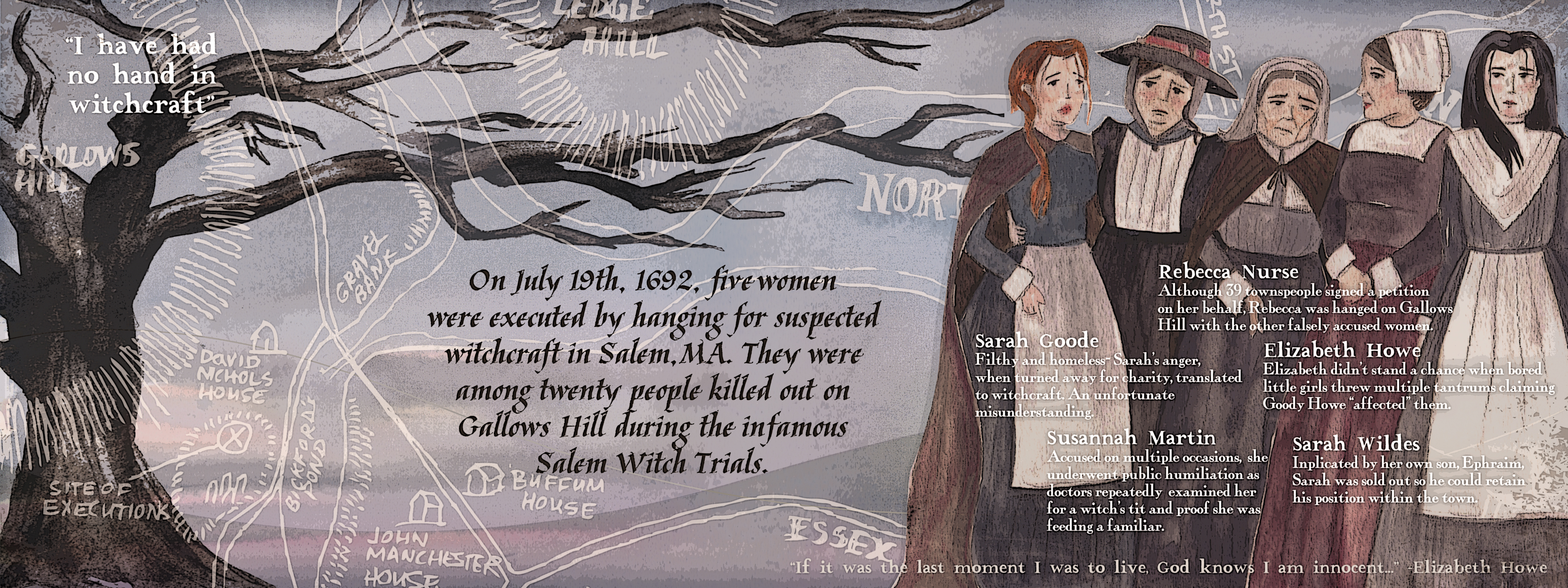 salam witch trails The salem witch trials occurred from 1692-1693 when the trials were officially stopped in may of 1693, many thought it was over and nothing would become of it.