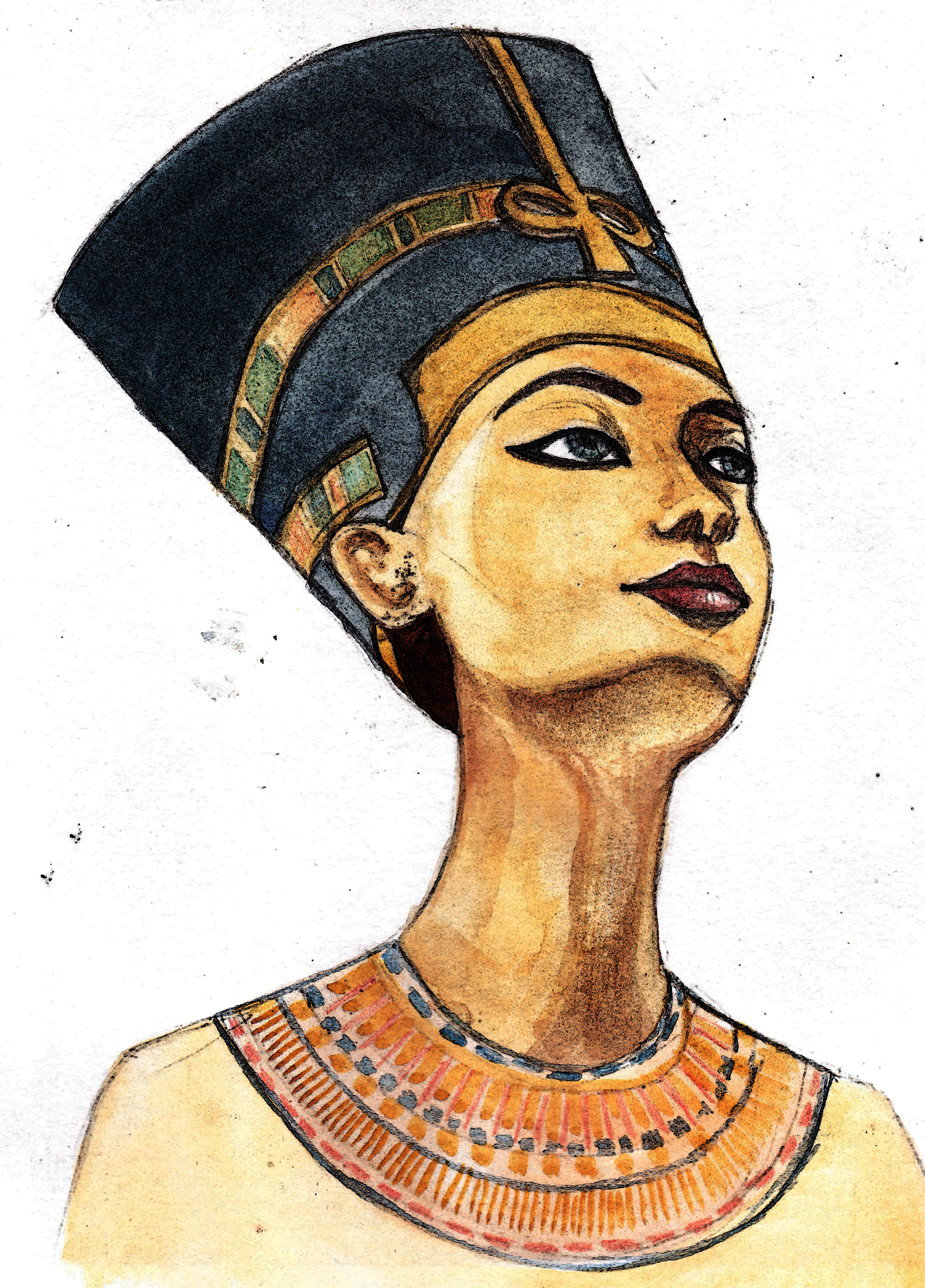 egyptian queen drawing - photo #12