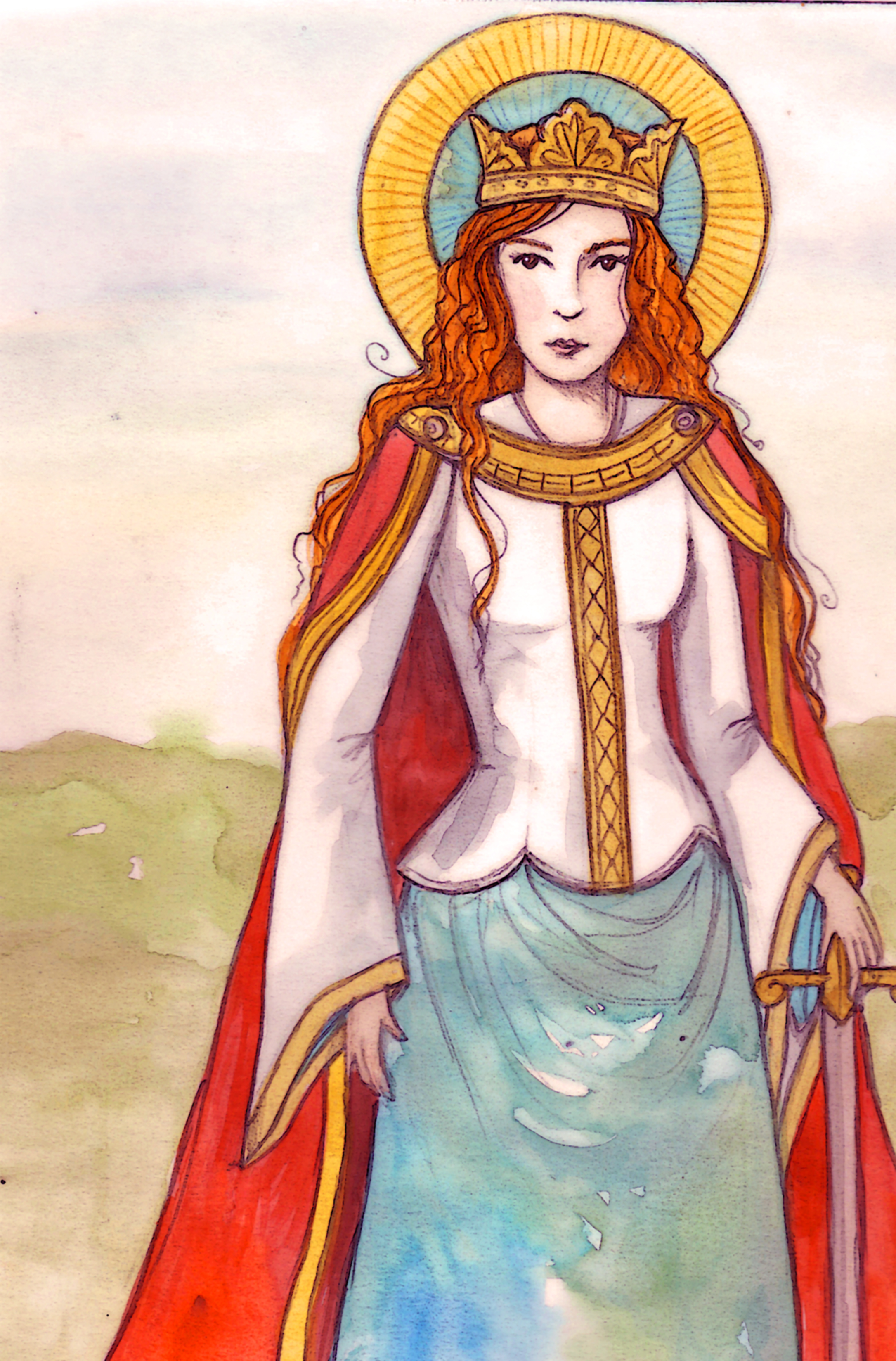 Saints And Angels Oracle Cards: History Witch