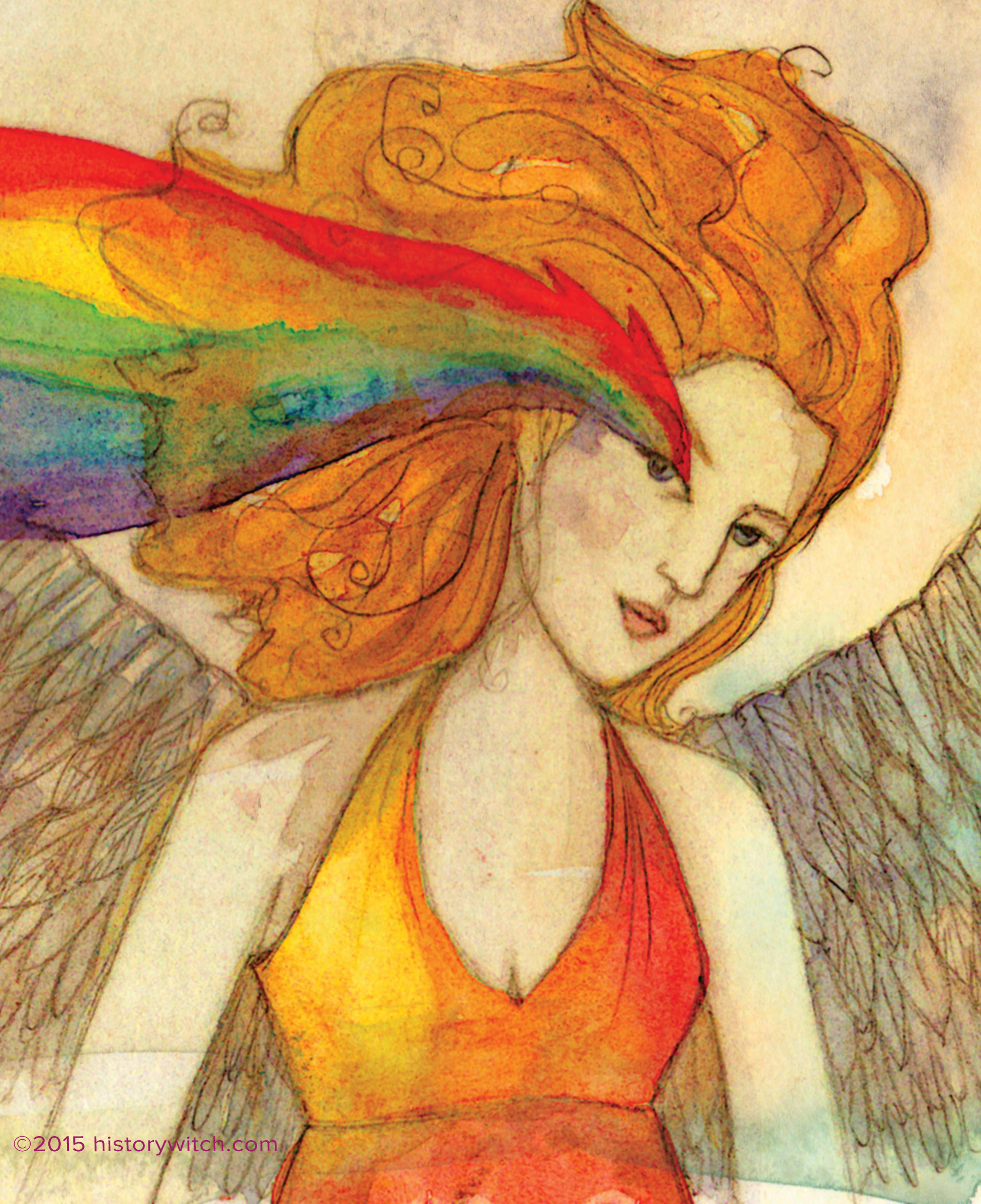 image gallery iris greek goddess